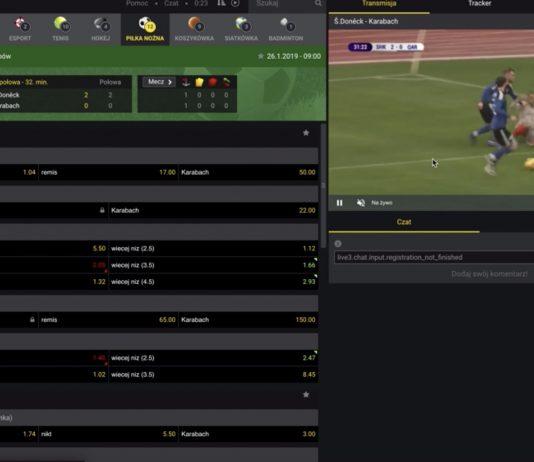 Jak oglądać mecze u bukmachera Fortuna?